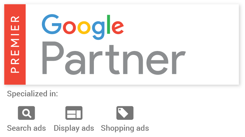Google Premier Partner Search, Shopping and Display Google Ads